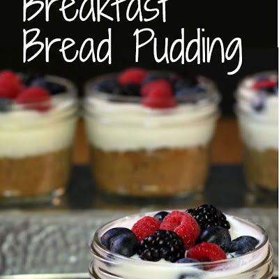 Healthy Breakfast Bread Pudding