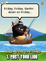 Screenshot of Ninja Fishing