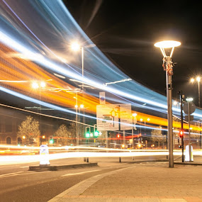 Light Rush by Andro Andrejevic - Abstract Light Painting ( light painting, night photography, light trails, bus trails, night shoot )