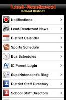 Screenshot of Lead-Deadwood School District