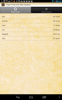 Screenshot of Prayer Times with Qibla Compas