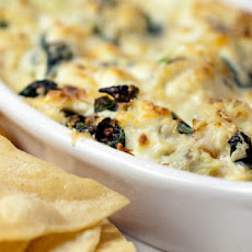 Artichoke and Crabmeat Party Dip