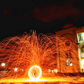 by Aditya Perdana - Abstract Light Painting