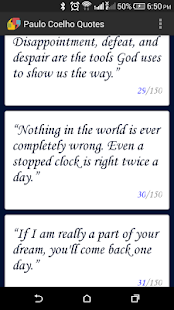 Paulo Coelho Quotes - screenshot