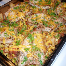 Spicy Pork Chop Casserole