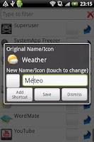 Screenshot of App Renamer Pro