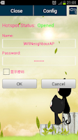 Screenshot of Android Hotspot