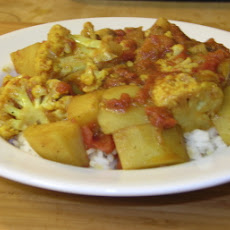 Low Fat Aloo Gobi
