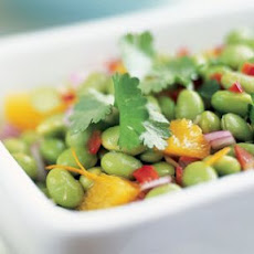 Edamame and Orange Salad