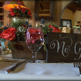Table for 20 by Khristi Johnson-Jacobs - Wedding Reception (  )