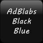 GOWidget Black Blue Theme Pack icon