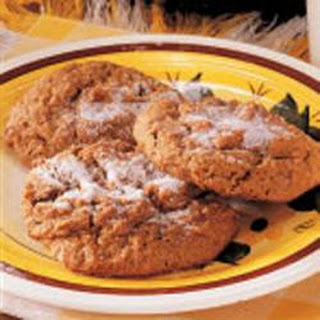 Chewy Ginger Drop Cookies