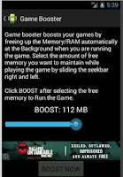 Screenshot of Game Booster - Speed up Tool