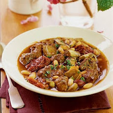 Lamb Stew with White Beans and Artichokes
