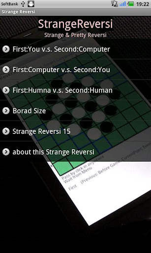 Strange Reversi