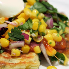 Vegetable Fritters With Corn Salsa (Can Be Gluten-Free)