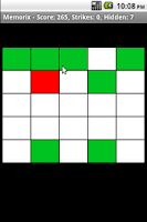 Screenshot of Memorix Memory Game