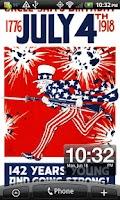 Screenshot of 4th of July Classic Wallpaper