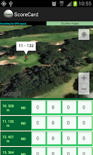Golf - Pitch&Putt ScoreCard - screenshot