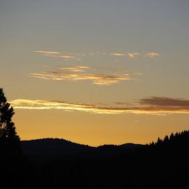 Truckee Morning Sunrise by Robert Banks IV - Landscapes Sunsets & Sunrises