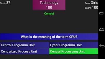 Screenshot of Quiz Creator free