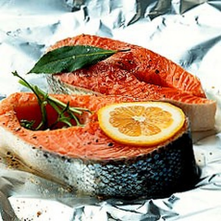 thyme and three lemon creme fraiche recipes dishmaps salmon with thyme ...