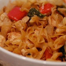 Southeast Asian Peanut Noodles