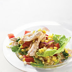 Turkey-Corn Salad with Pan-Dripping Dressing