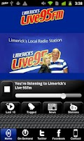 Screenshot of Limerick's Live 95FM