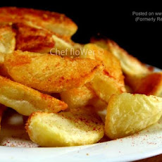 Low-Fat Home-Made Oven Chips