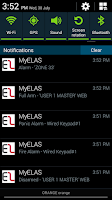 Screenshot of MyELAS