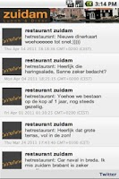 Screenshot of Zuidam Restaurant