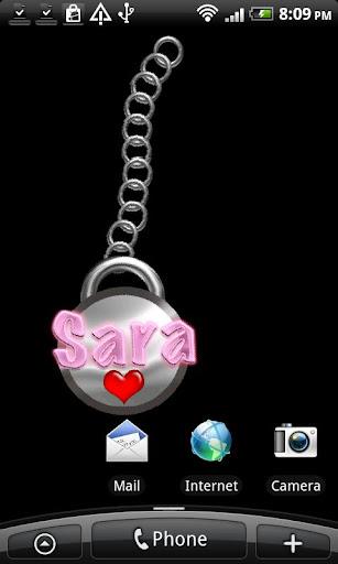 Sara Name Tag