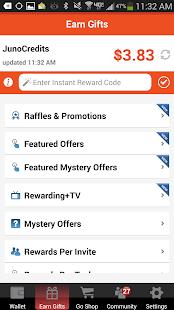 APK App JunoWallet Earn Gift Cards NOW for iOS