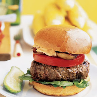 Cheese-Stuffed Burgers
