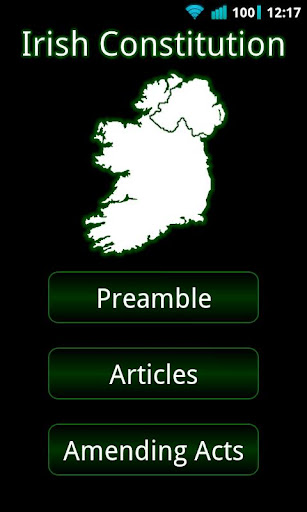 Irish Constitution