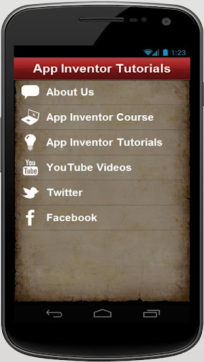 App Inventor Tutorials