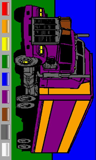 Ad free Trucks Coloring Book