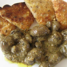 Mushrooms in Cognac Herb Sauce