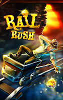 Screenshot of Rail Rush