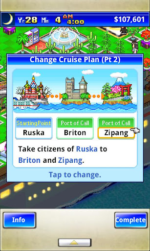 World Cruise Story - screenshot