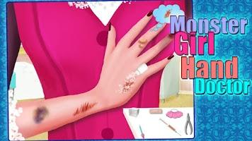 Screenshot of Monster Girl - Hand Doctor