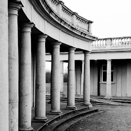 Eaton Park by Daniel Beckert - Buildings & Architecture Architectural Detail ( norwich, building, park, architecture, eaton )