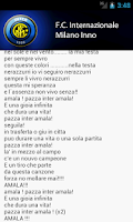 Screenshot of Inter Milano Anthem