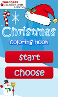 Screenshot of Christmas Coloring Book