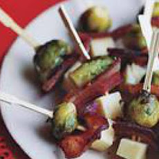 Bacon-and-Cheese Brussels Sprouts