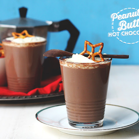 Thick Peanut Butter Hot Chocolate