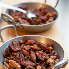 Cosmopolitans and Roasted Nuts with Rosemary