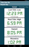 Screenshot of Tides Near Me - Free