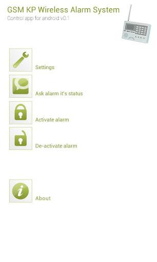 【免費工具App】GSM KP Wireless burglar alarm-APP點子